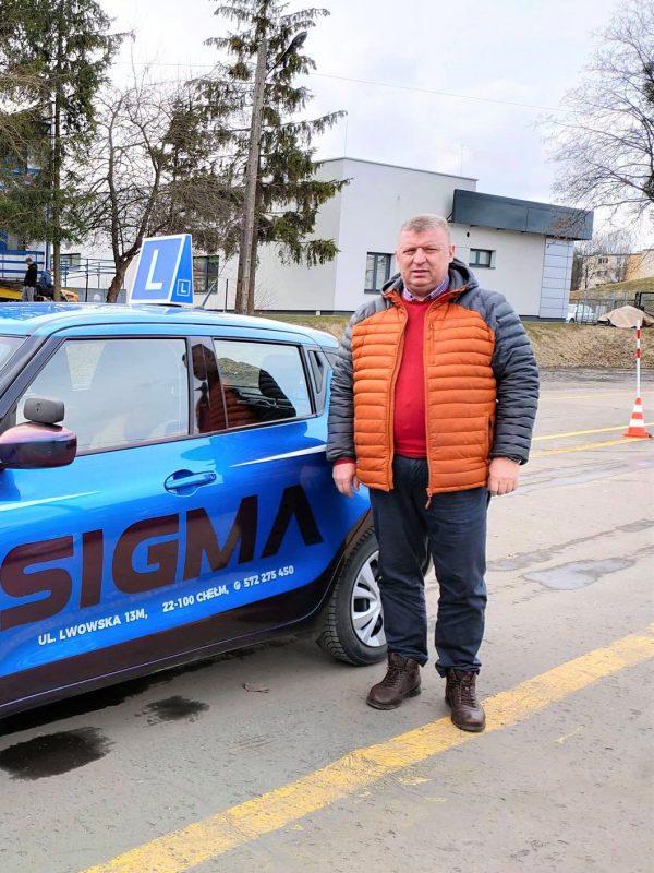 instruktor Tomasz Błaziak